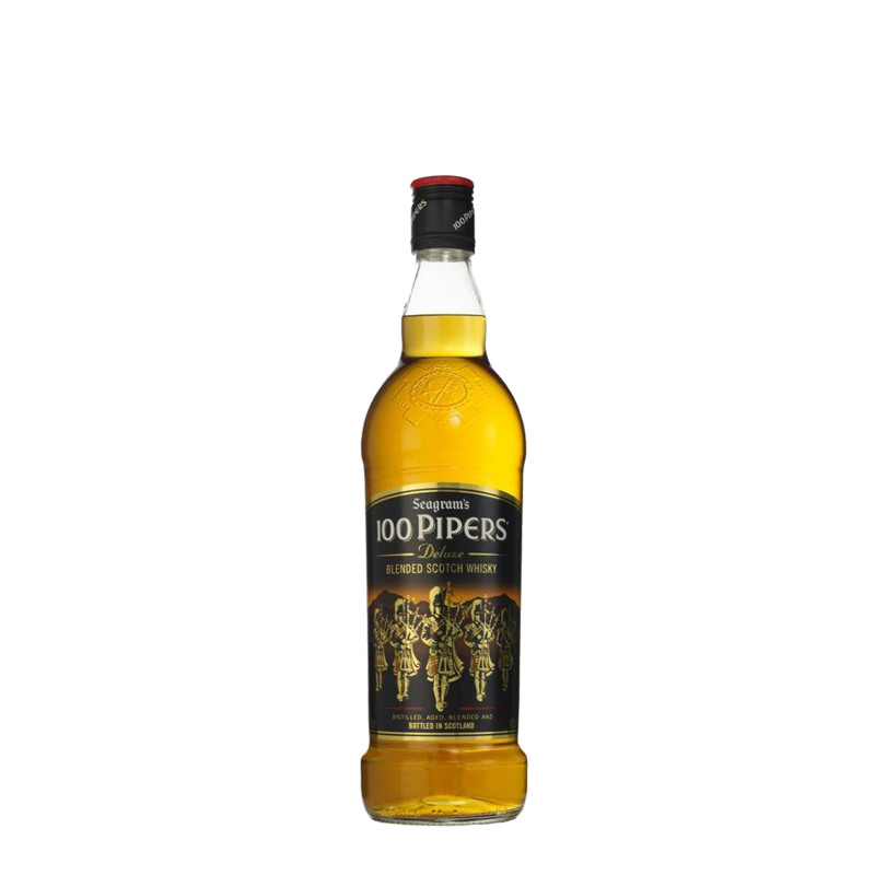 100 Pipers Deluxe Blended Scotch Whisky 1L Abu Dhabi UAE