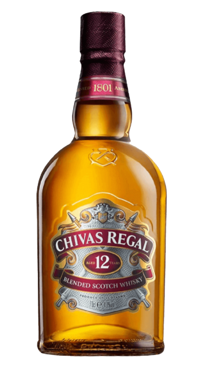 Free bottle of Chivas Regal 12