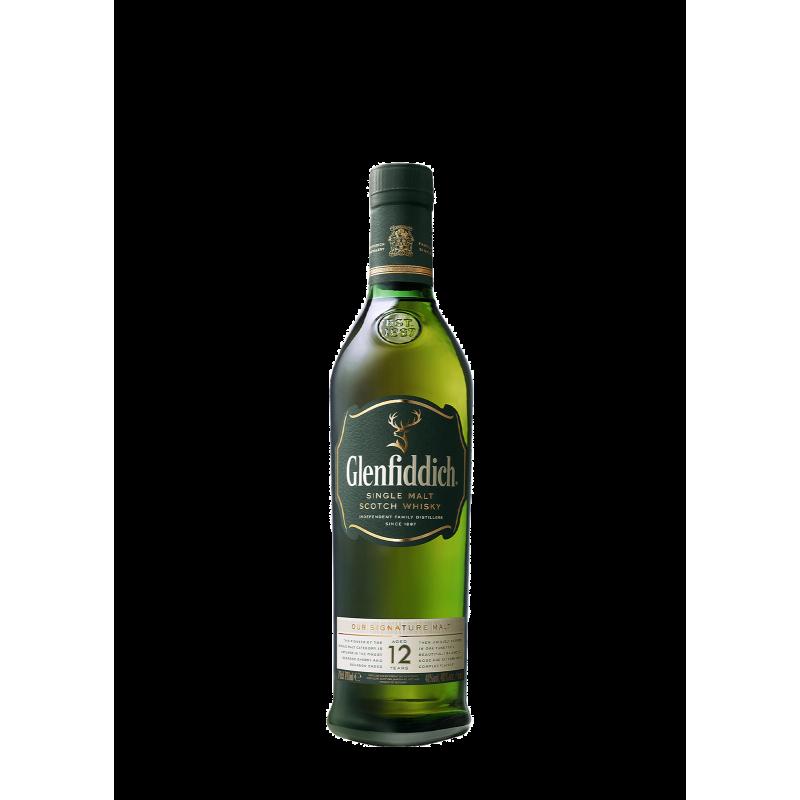 Glenfiddich 12YoSingle Malt Scotch 75Cl