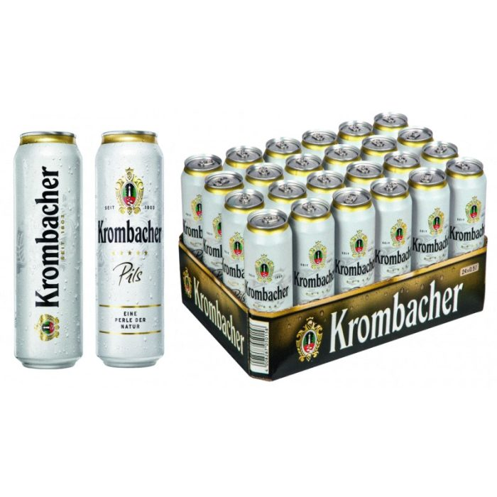 Krombacher Can 50Cl - Case of 24