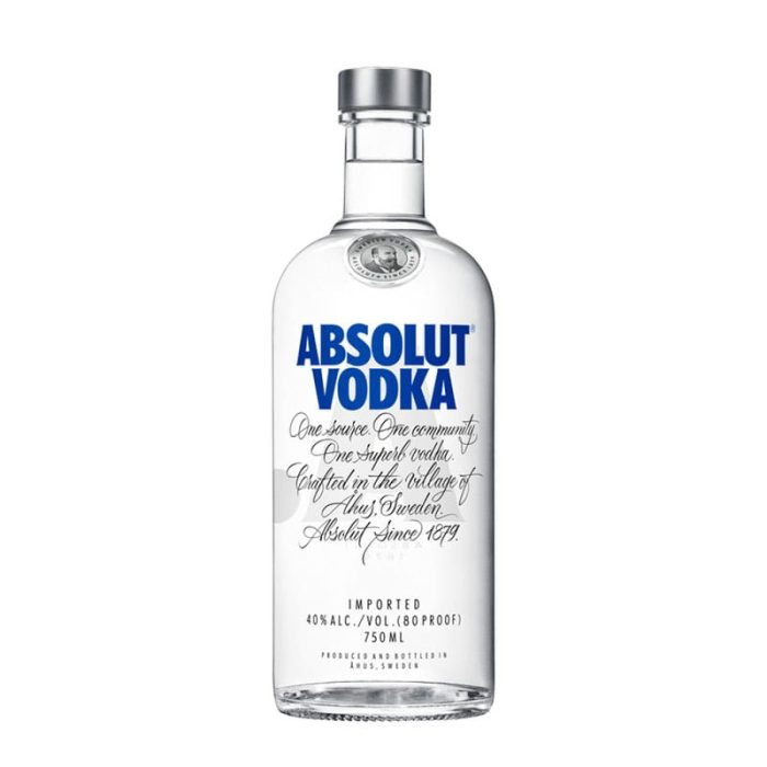 Absolut Blue 75Cl Vodka