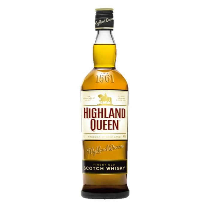 Highland Queen Blended Scotch Whisky 1L